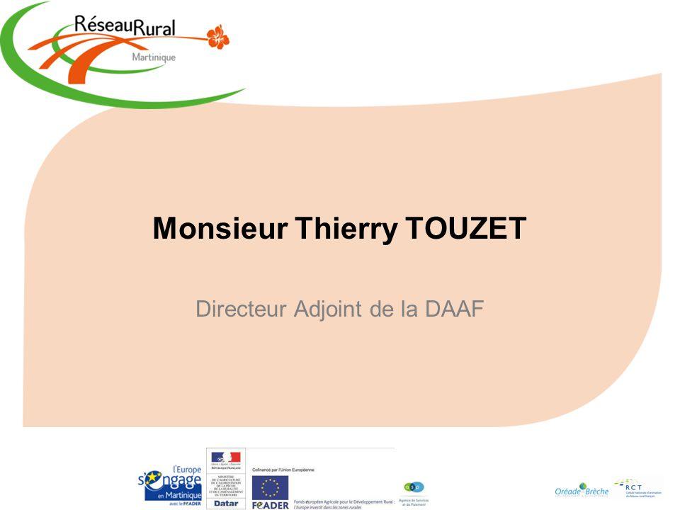 Monsieur Thierry TOUZET