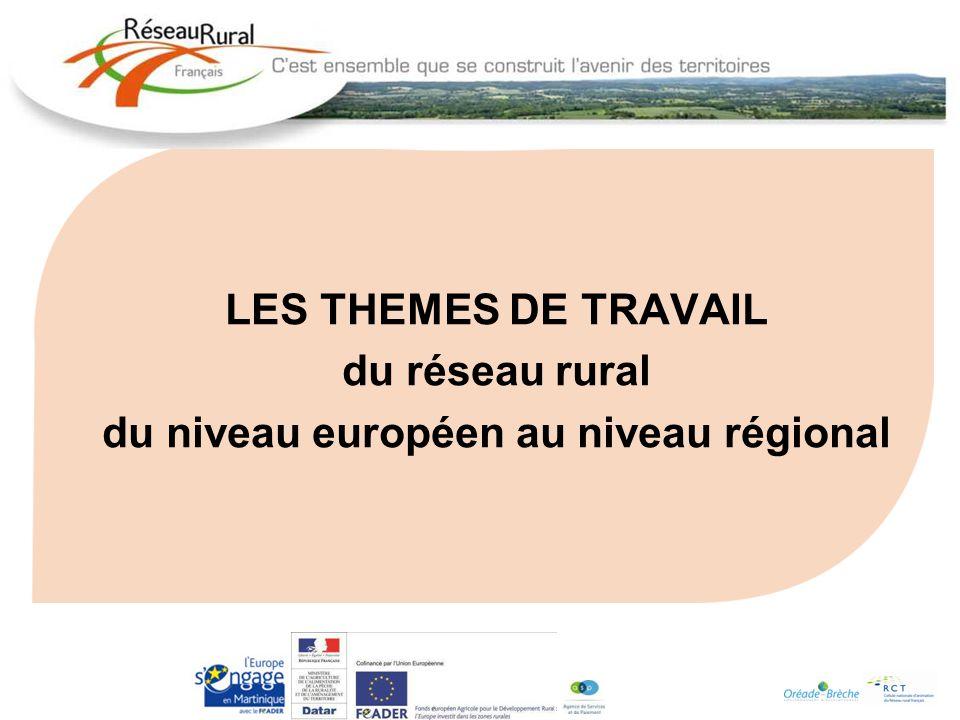 du niveau européen au niveau régional