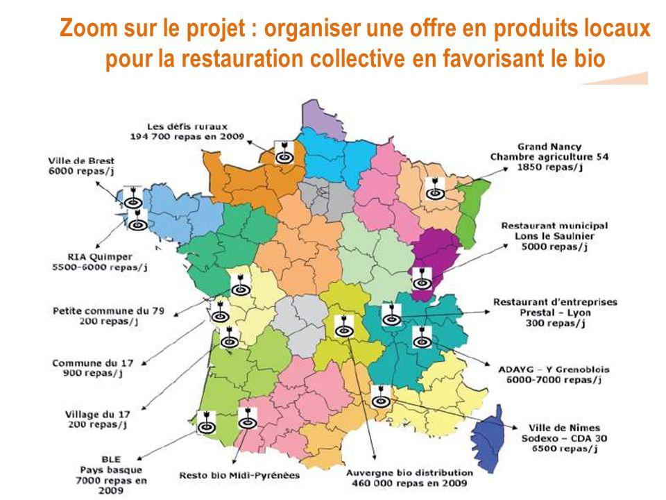 Zoom sur le projet : organiser une offre en produits locaux pour la restauration collective en favorisant le bio