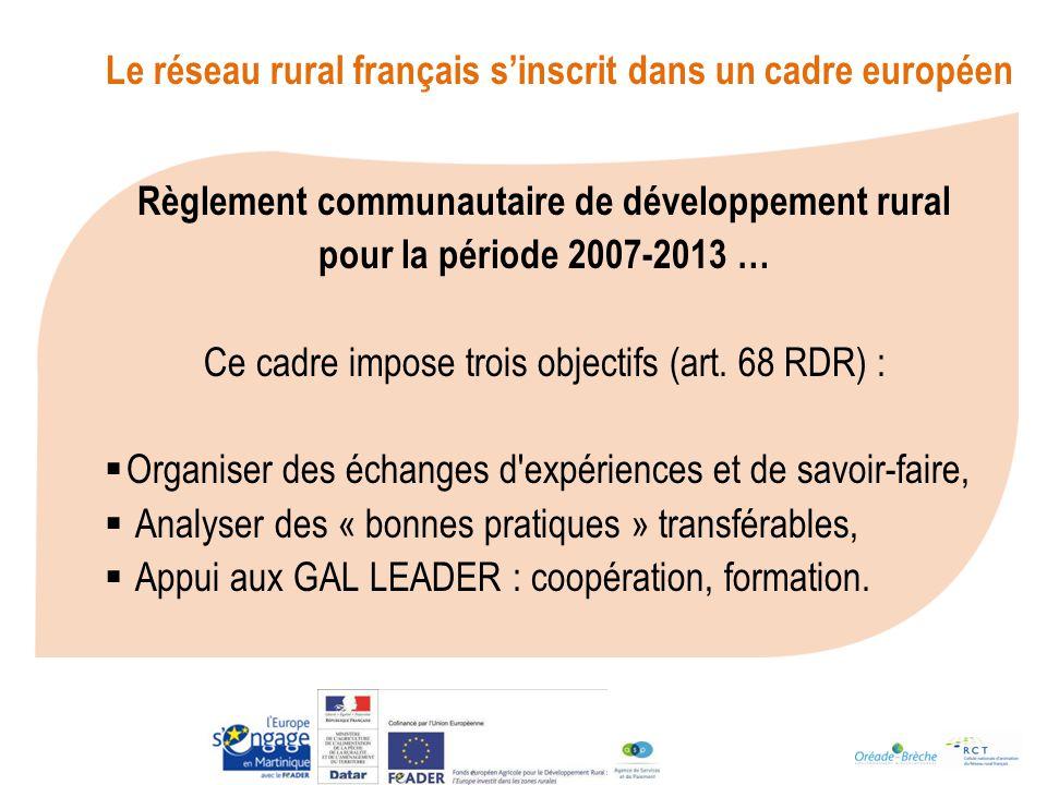 Règlement communautaire de développement rural