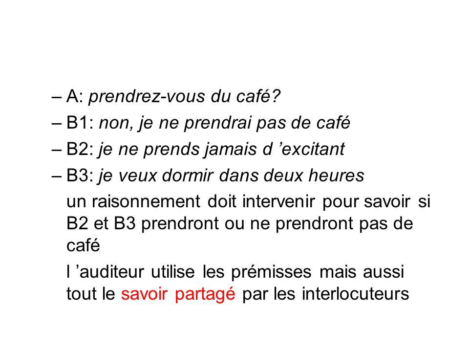 A: prendrez-vous du café