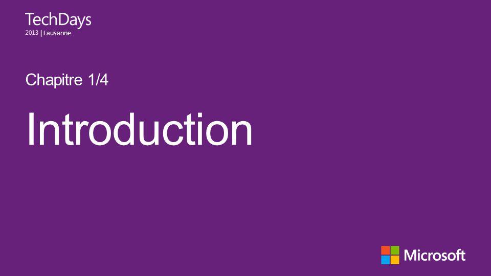 Chapitre 1/4 Introduction