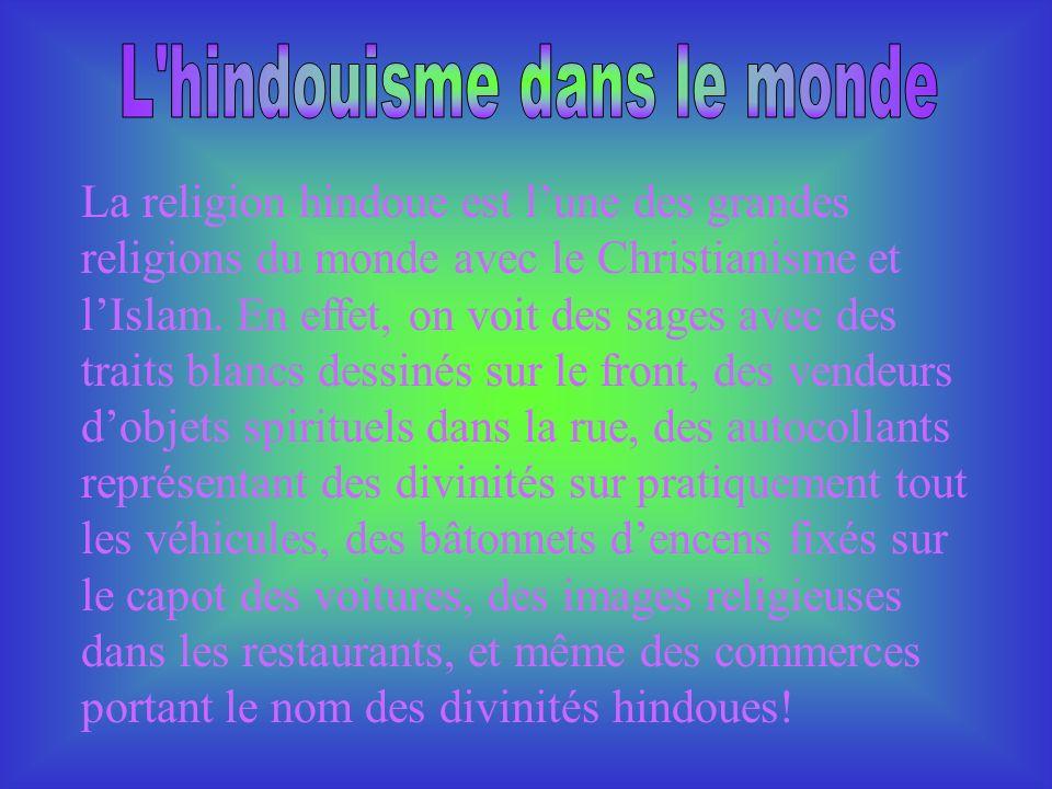 L hindouisme dans le monde