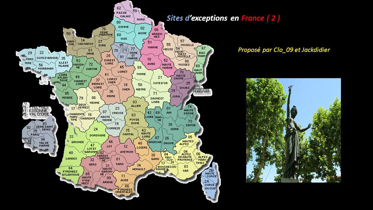 Sites d'exceptions en France ( 2 )