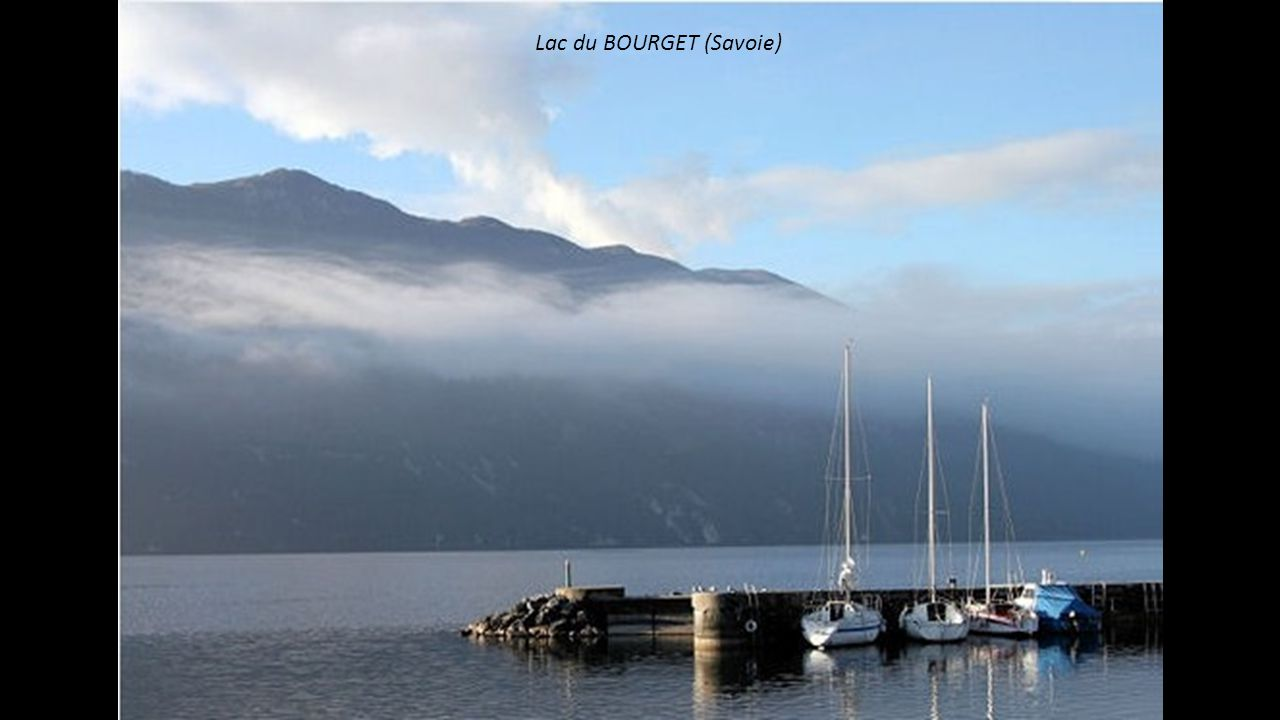 Lac du BOURGET (Savoie)