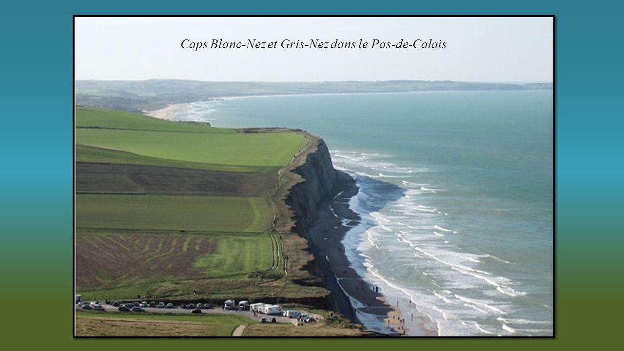Caps Blanc-Nez et Gris-Nez dans le Pas-de-Calais