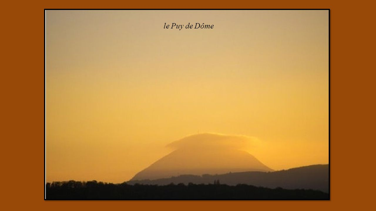 le Puy de Dôme