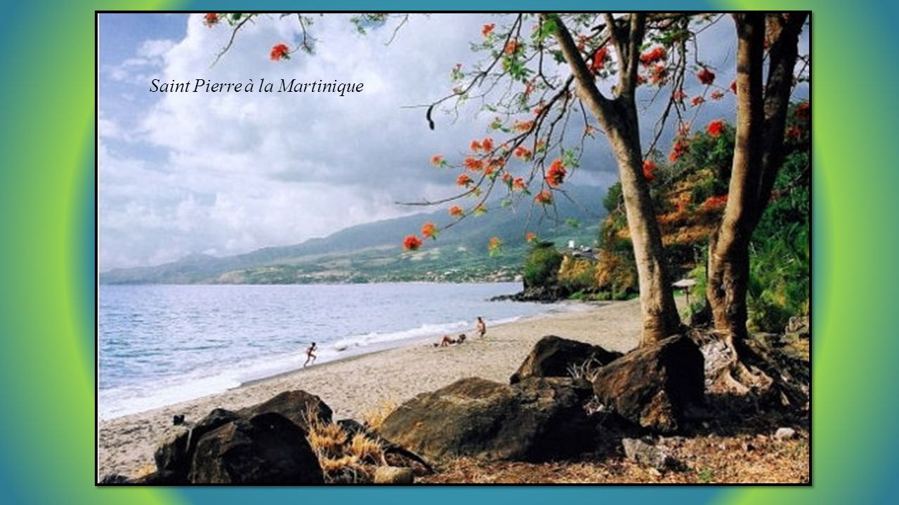 Saint Pierre à la Martinique