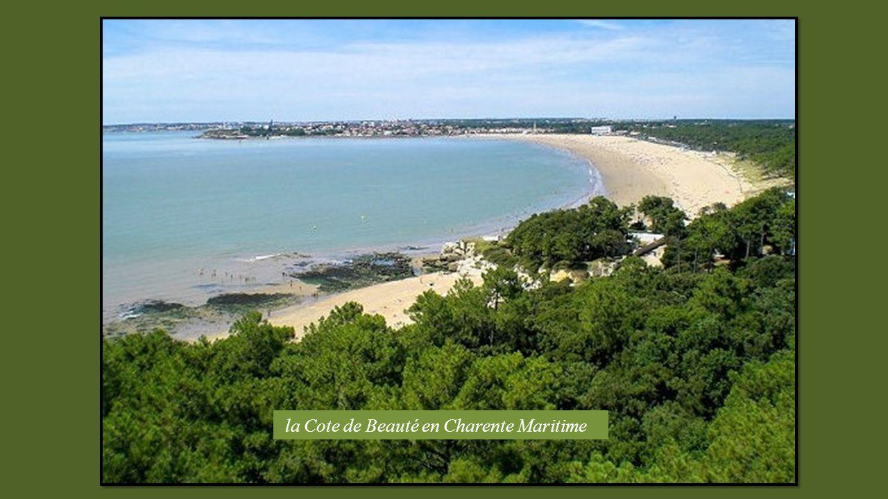 la Cote de Beauté en Charente Maritime