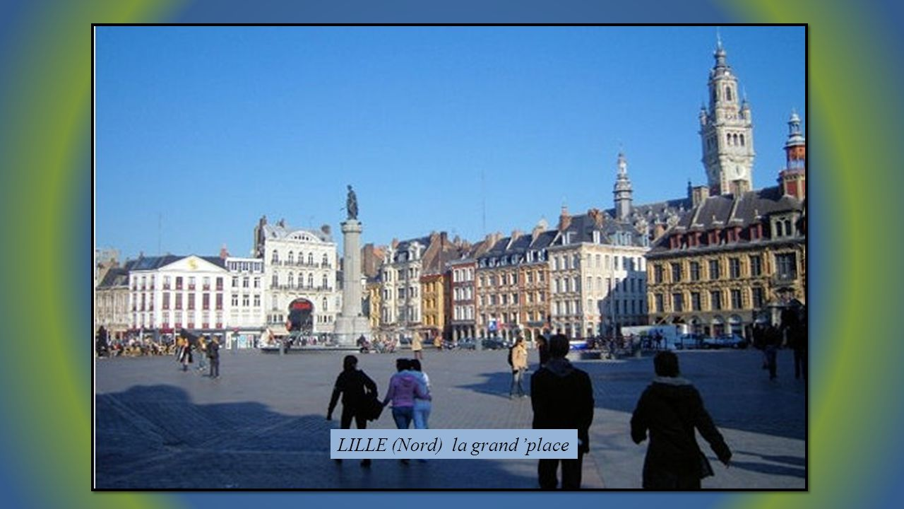 LILLE (Nord) la grand 'place