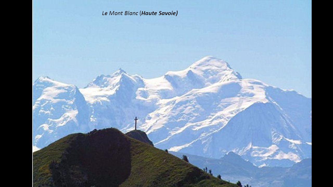 Le Mont Blanc (Haute Savoie)