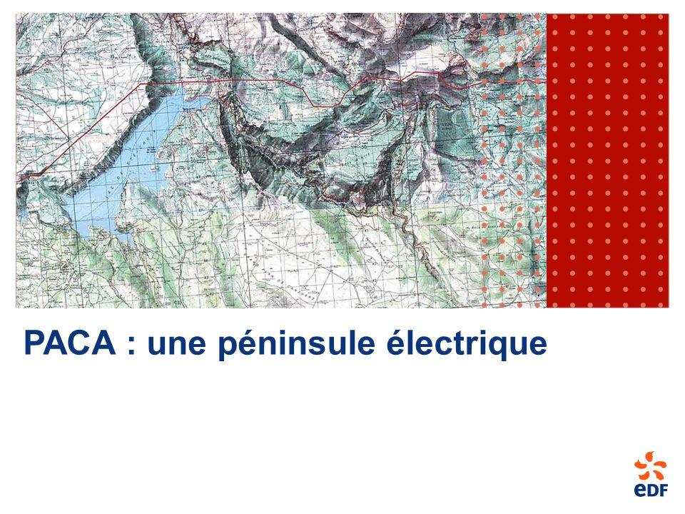 PACA : une péninsule électrique