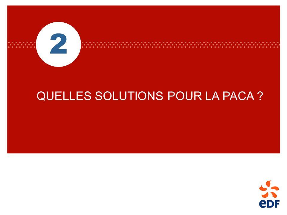 2 QUELLES SOLUTIONS POUR LA PACA