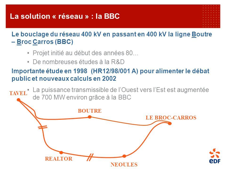 La solution « réseau » : la BBC