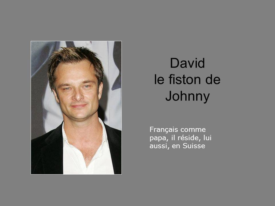 David le fiston de Johnny