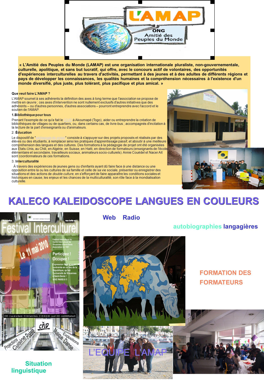 KALECO KALEIDOSCOPE LANGUES EN COULEURS