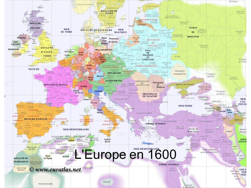 L Europe en 1600