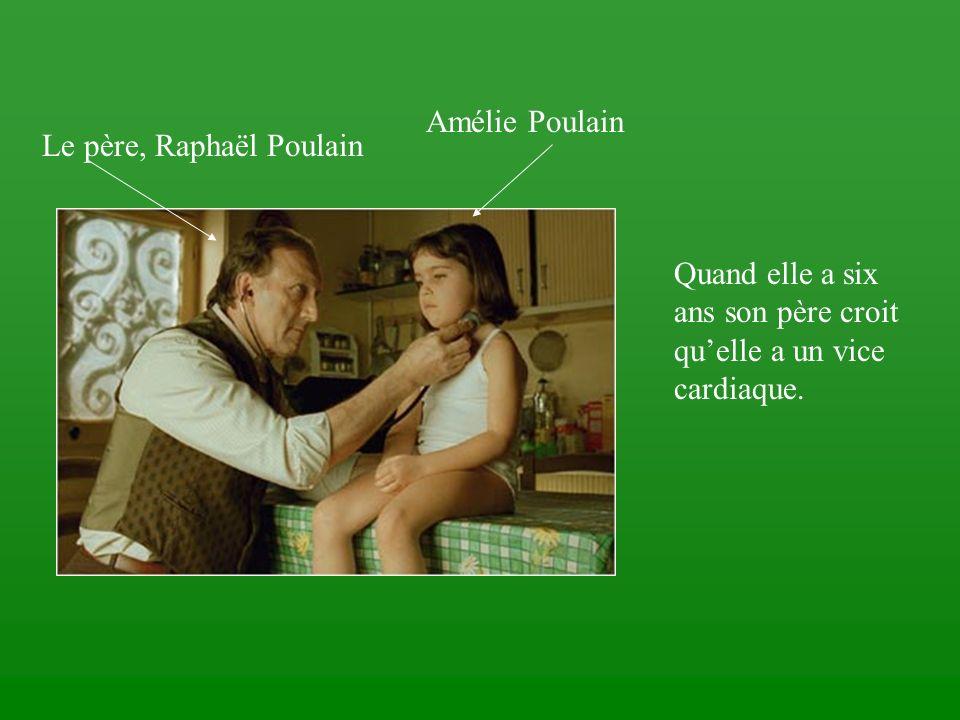 Amélie Poulain Le père, Raphaël Poulain.
