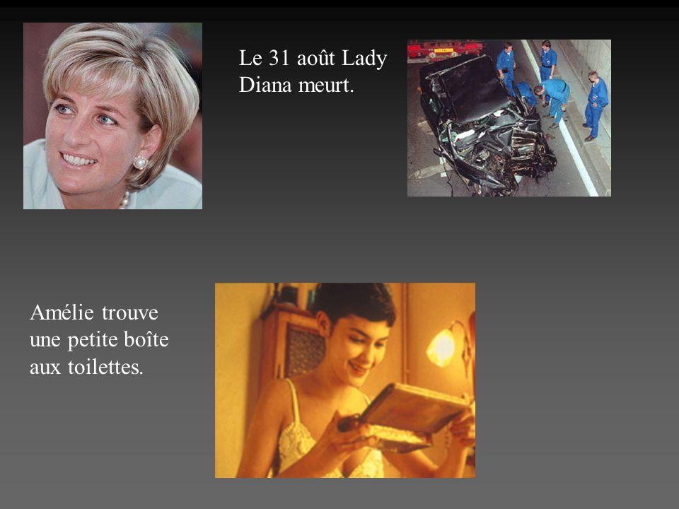 Le 31 août Lady Diana meurt.