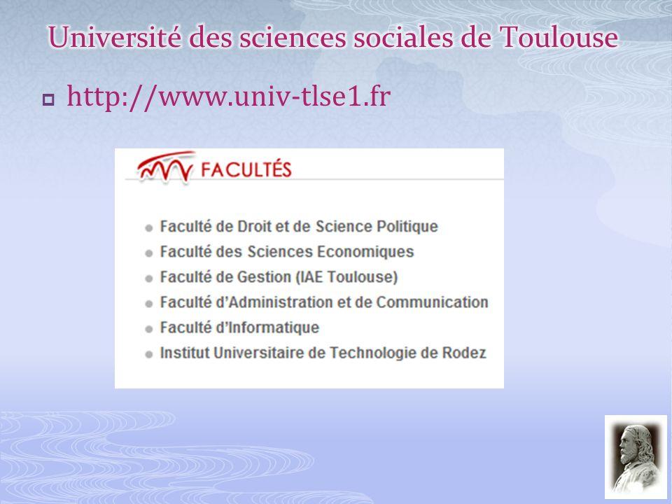 Université des sciences sociales de Toulouse