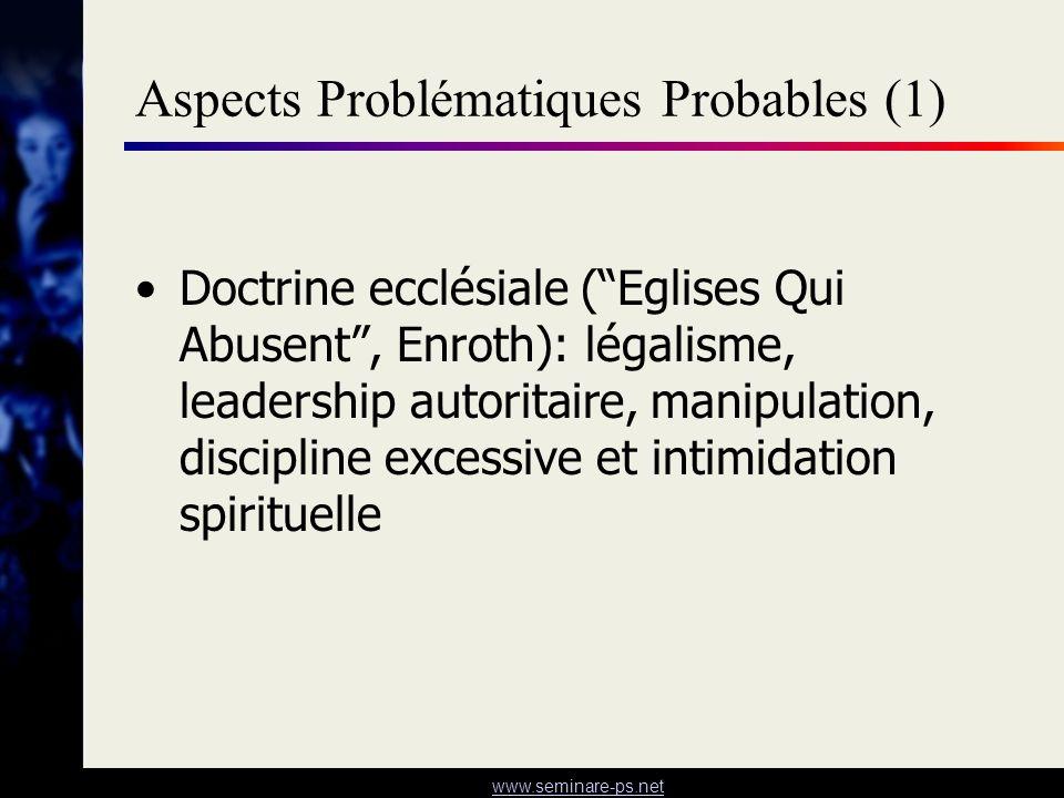 Aspects Problématiques Probables (1)