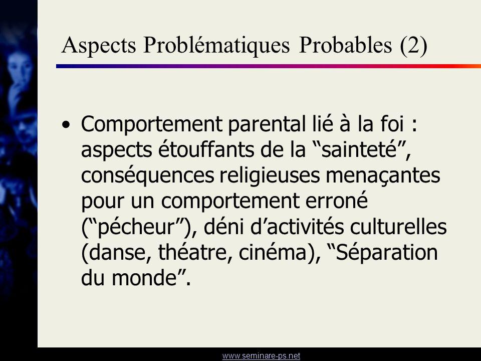 Aspects Problématiques Probables (2)