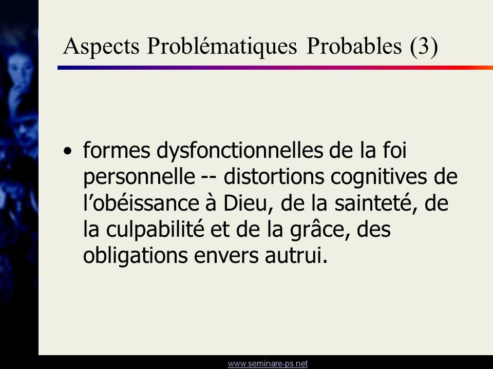 Aspects Problématiques Probables (3)