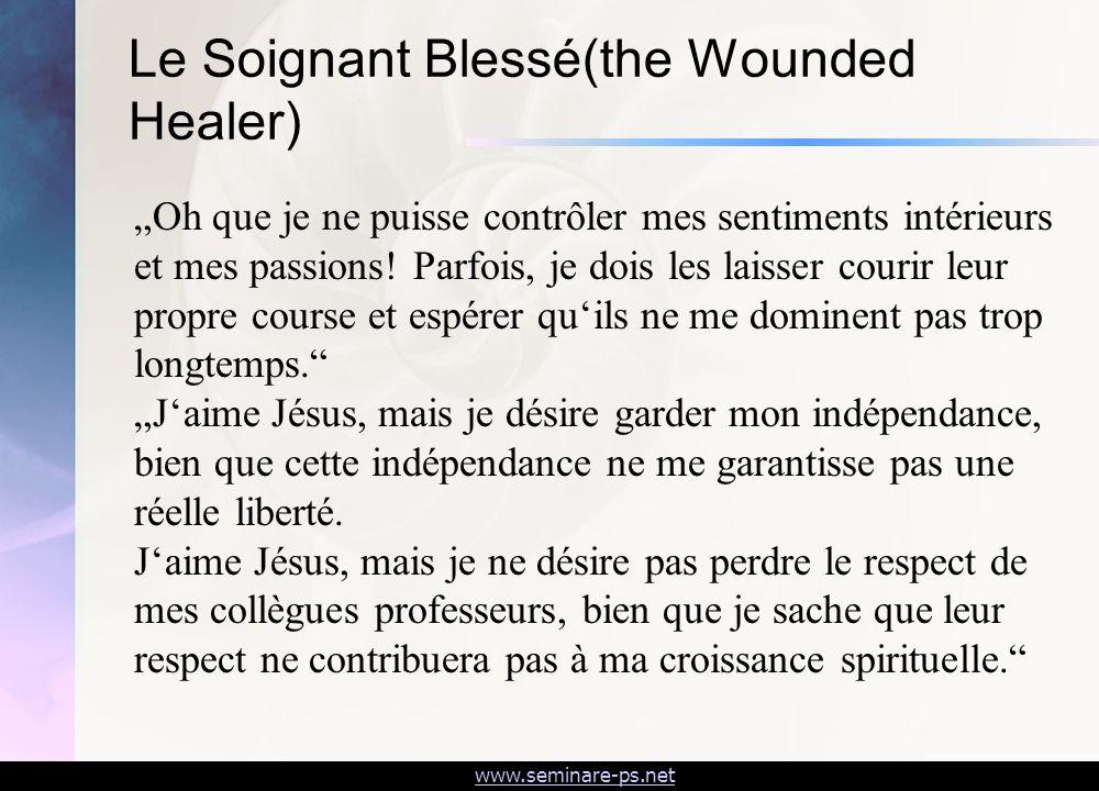 Le Soignant Blessé(the Wounded Healer)