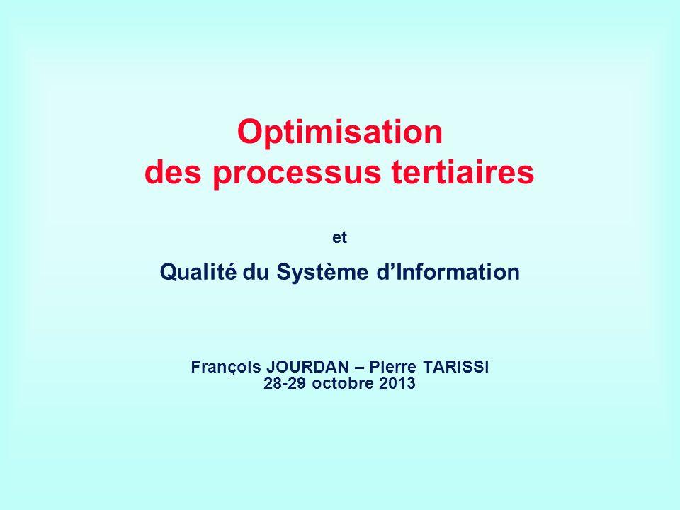 Optimisation des processus tertiaires