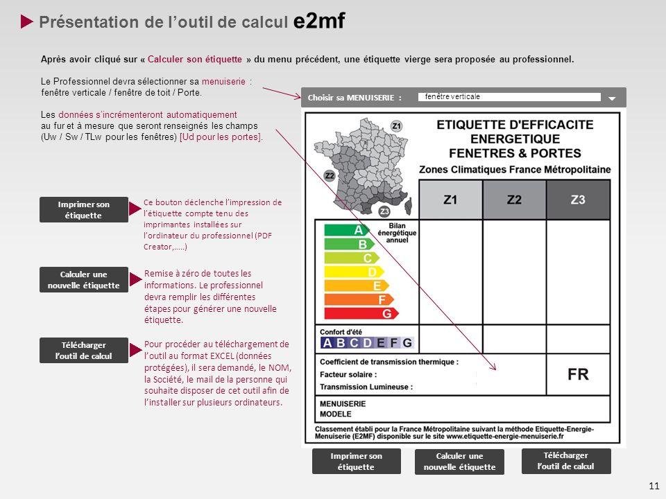  Présentation de l'outil de calcul e2mf
