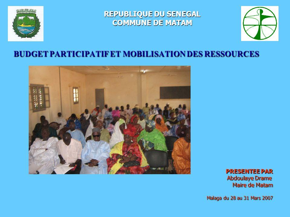 BUDGET PARTICIPATIF ET MOBILISATION DES RESSOURCES