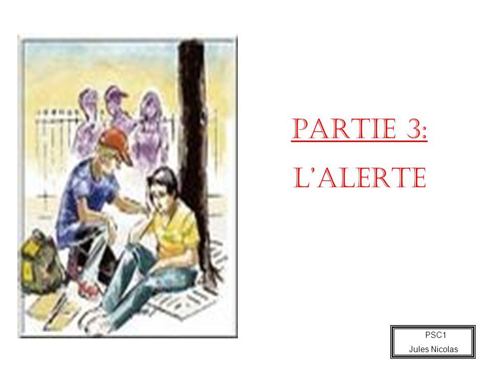 PARTIE 3: L'ALERTE 25 minutes PSC1 Jules Nicolas