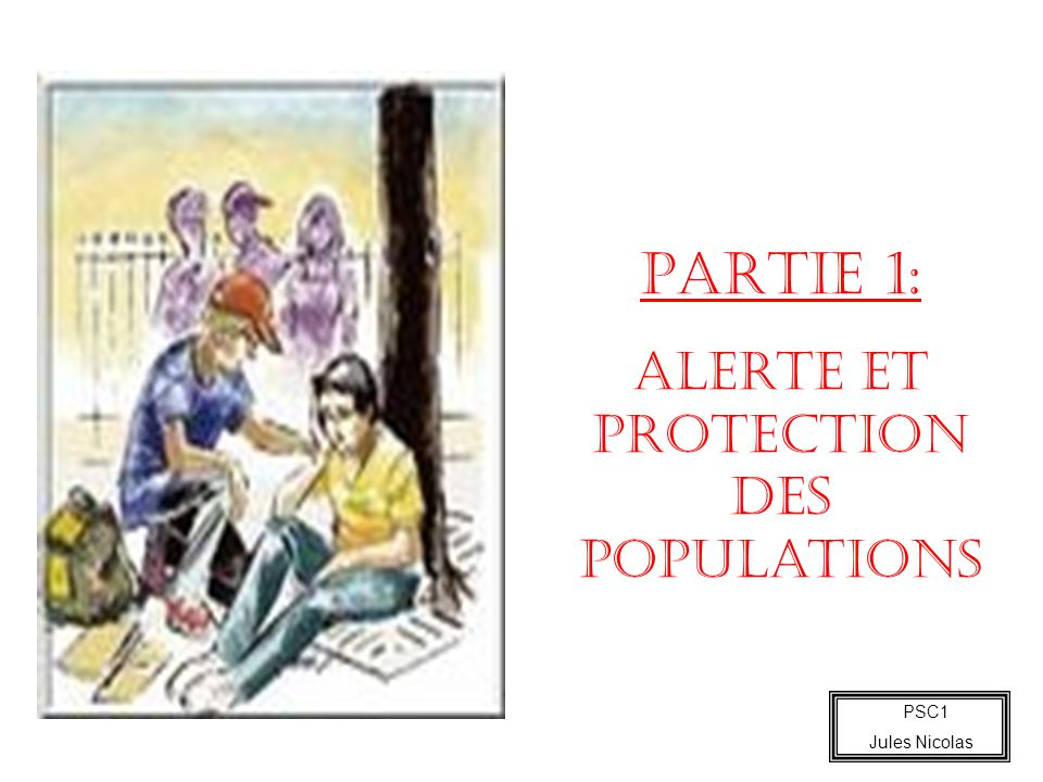 Alerte et protection des populations
