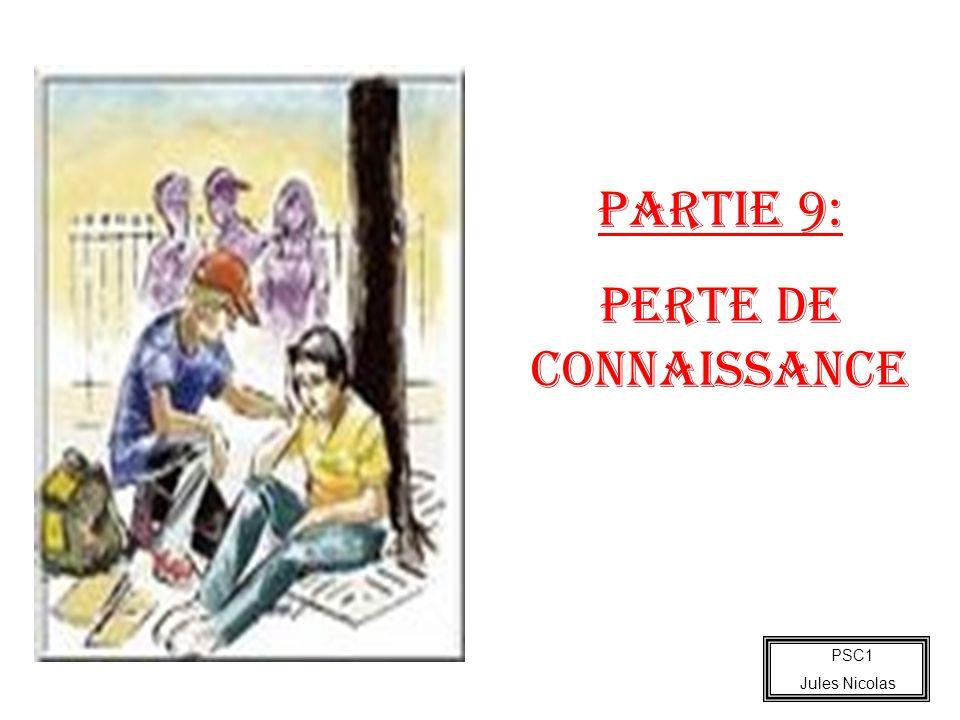 PARTIE 9: Perte de connaissance PSC1 Jules Nicolas