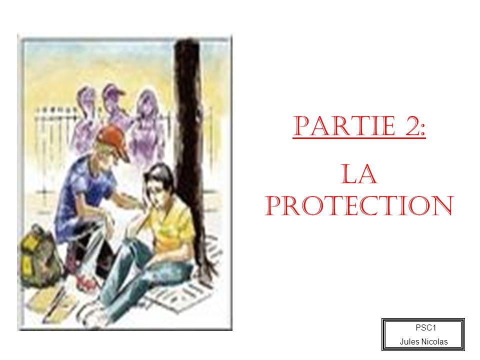 PARTIE 2: LA PROTECTION 35 minutes PSC1 Jules Nicolas