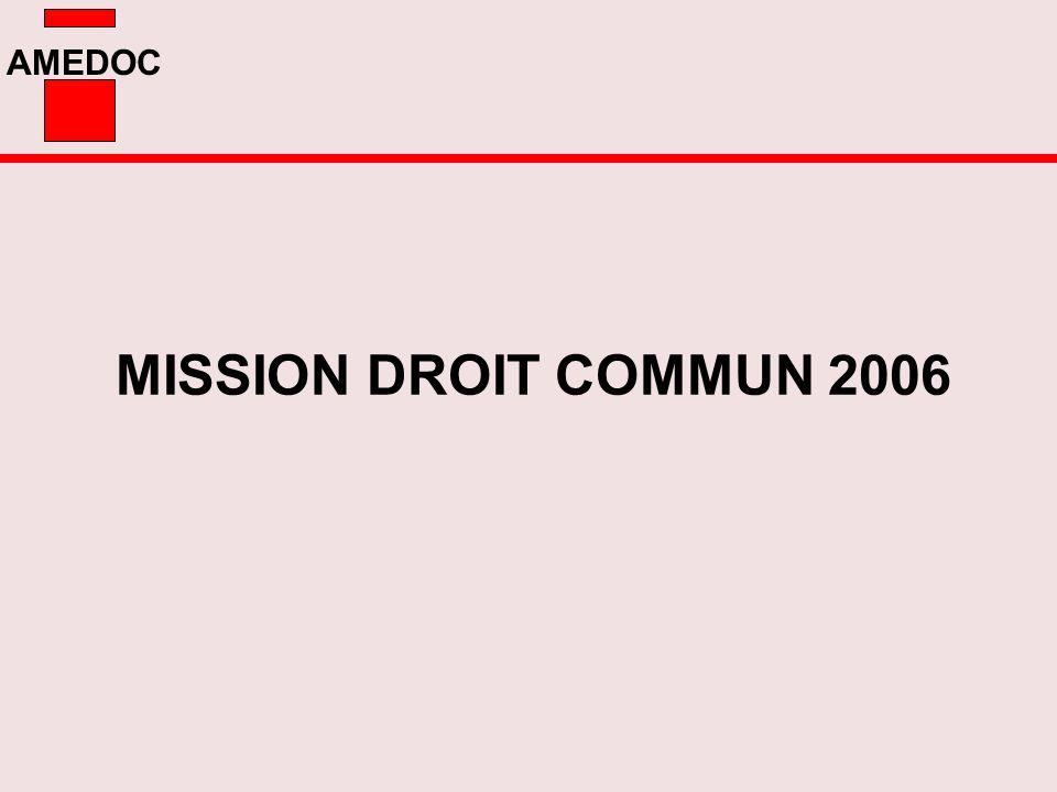 MISSION DROIT COMMUN 2006