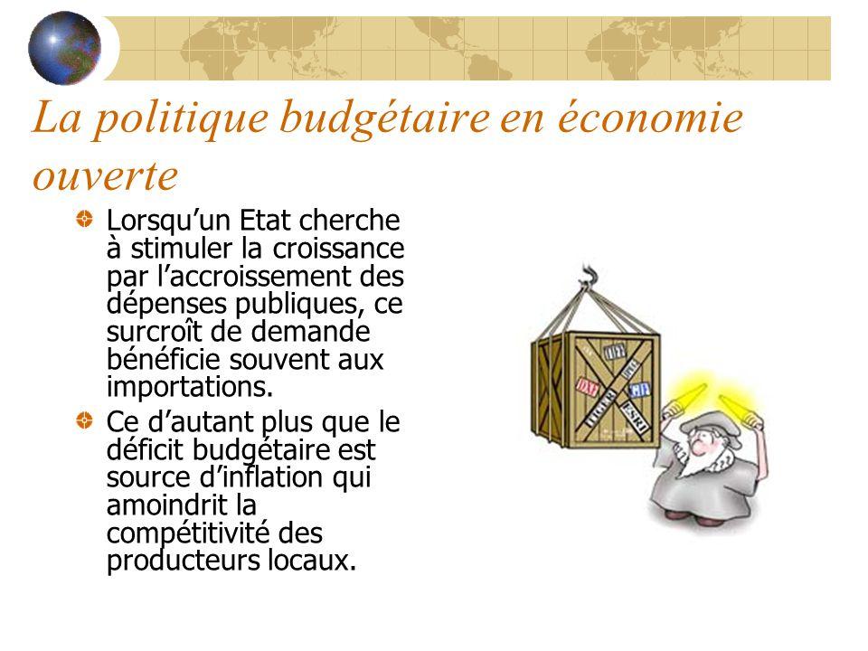 La politique budgétaire en économie ouverte