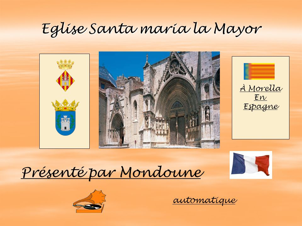 Eglise Santa maria la Mayor