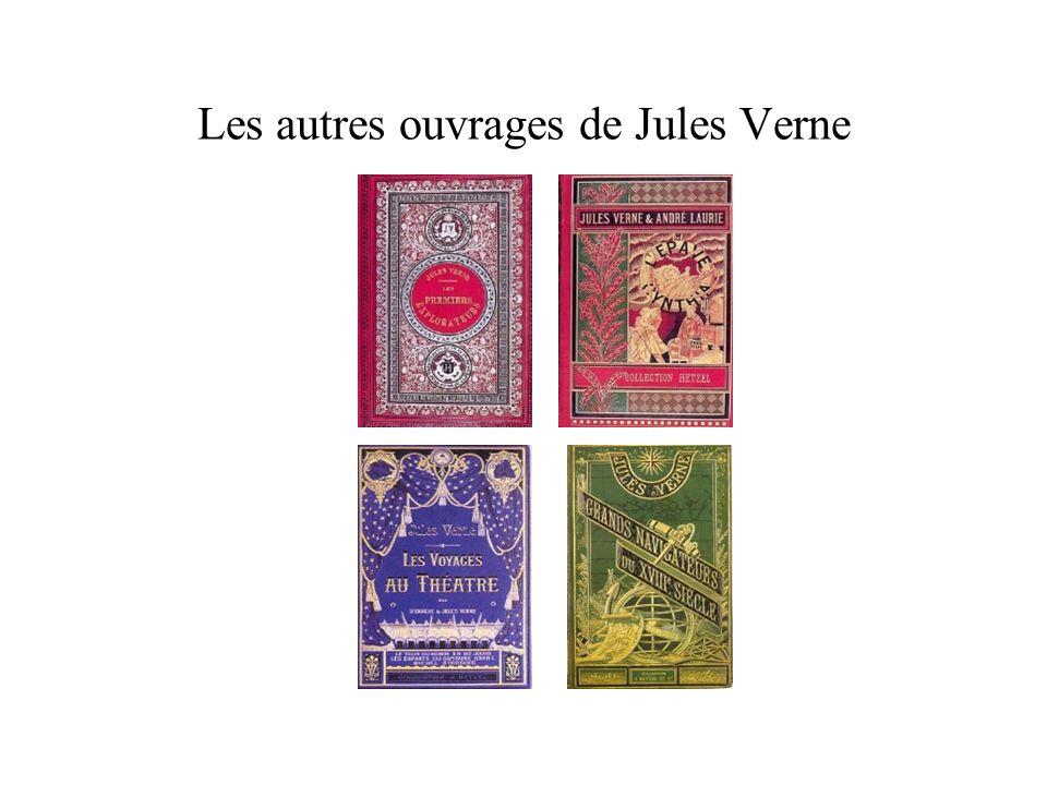 Les autres ouvrages de Jules Verne