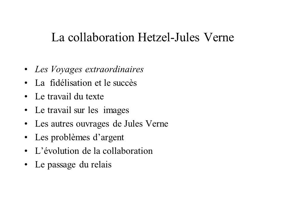 La collaboration Hetzel-Jules Verne