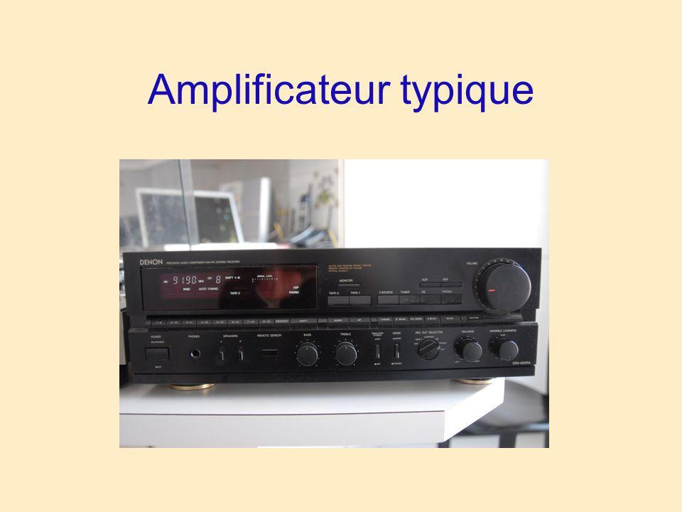 Amplificateur typique