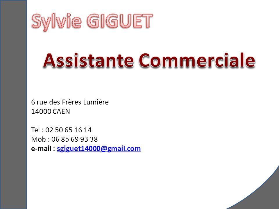 Assistante Commerciale