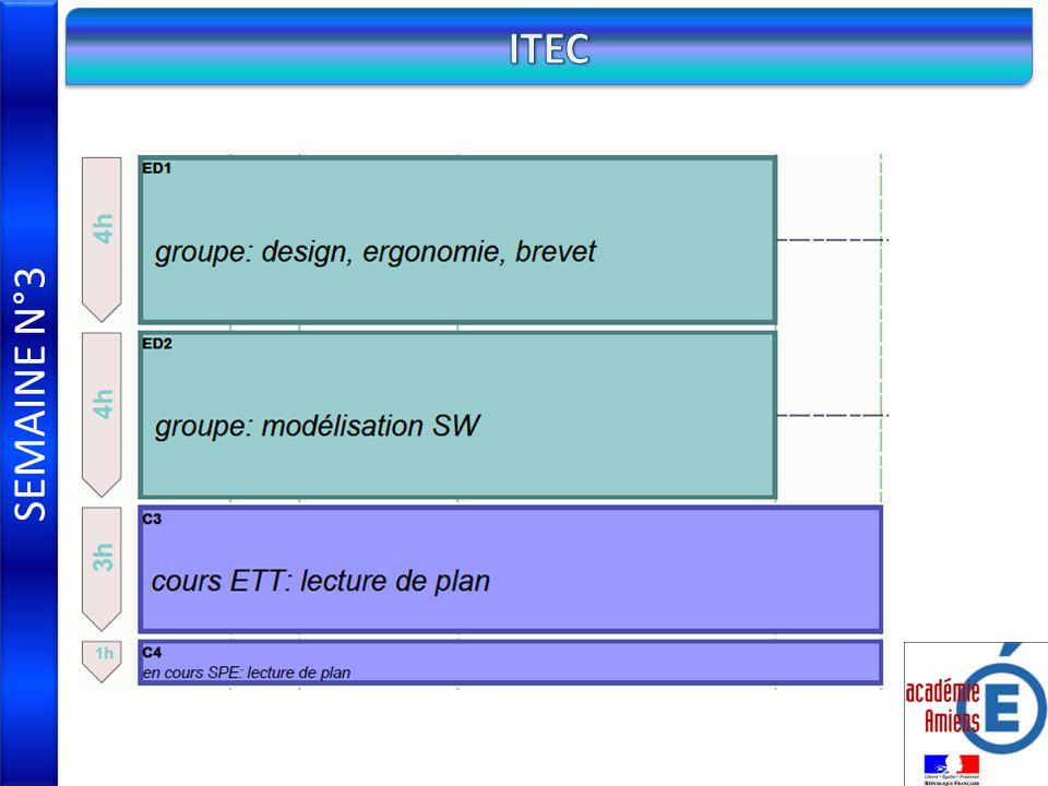 SEMAINE N°3 ITEC