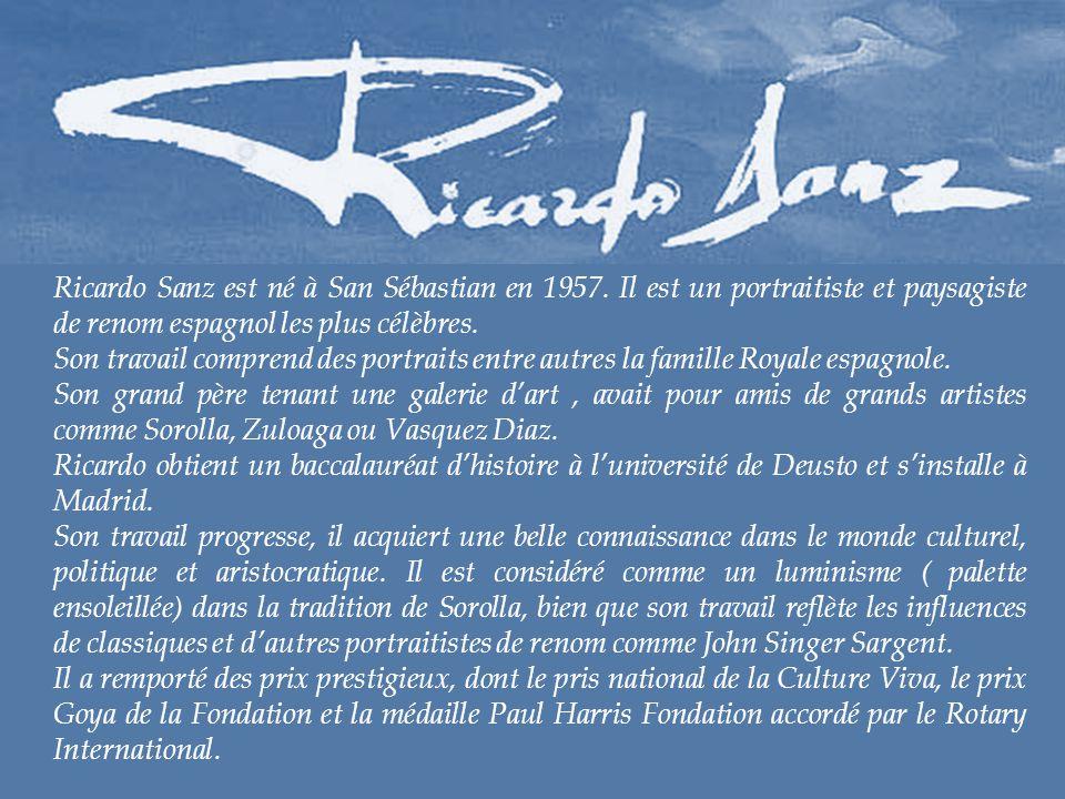 Ricardo Sanz est né à San Sébastian en 1957
