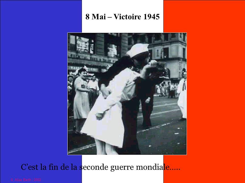C'est la fin de la seconde guerre mondiale…..