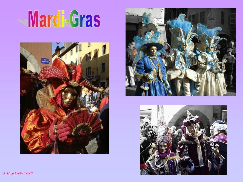 Mardi-Gras S. Alize Barth / 2002