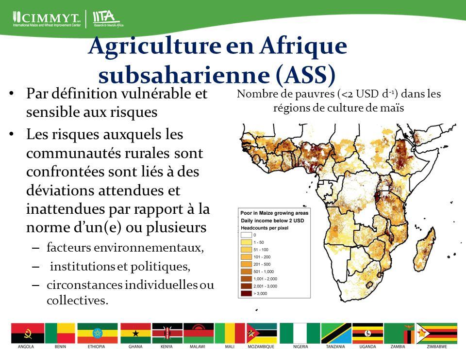 Agriculture en Afrique subsaharienne (ASS)