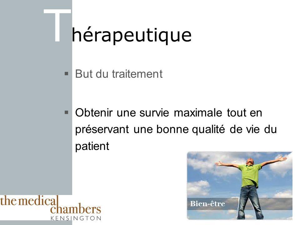 Thérapeutique But du traitement