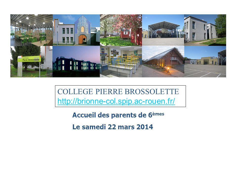 COLLEGE PIERRE BROSSOLETTE http://brionne-col.spip.ac-rouen.fr/