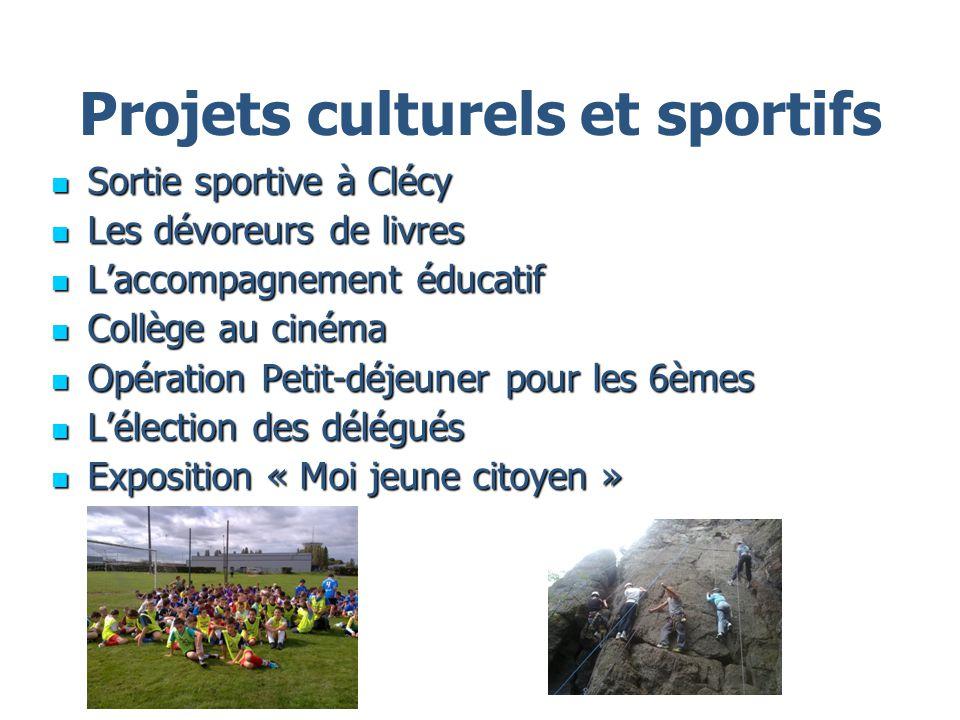 Projets culturels et sportifs